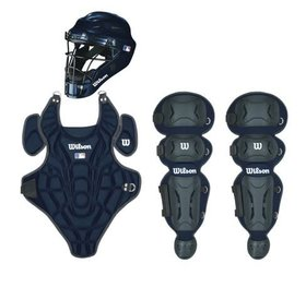 Wilson Wilson EZ Catcher gear Kit S/M ages 5-7 navy