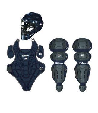 Wilson Wilson EZ Catcher gear Kit L-XL ages 7-12 navy