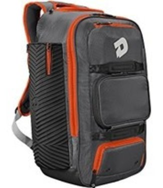 DeMarini Demarini Special Ops SPECTRE Backpack charcoal and orange