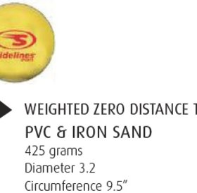 Sideline Sports Sidelines Weighted 0 Distance Training Balls 3.2