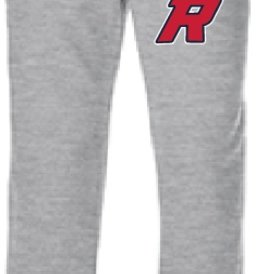 Authentic t-shirt company Pantalons jogging Authentic gris 100% cotton avec logo Royaux en serigraphie