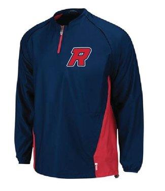 Rawlings Manteau Rawlings Triple Threat bleu marine convertible avec logo Royaux brode - RWT-RO-NY
