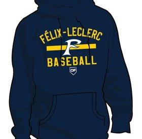 Authentic t-shirt company Kangourou Authentic Félix-Leclerc Baseball bleu marine
