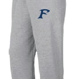 Authentic t-shirt company Pantalons Jogging Authentic 100% cotton gris avec logo des Felix-Leclerc