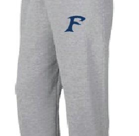 Pantalons Jogging Authentic 100% cotton gris avec logo des Felix-Leclerc