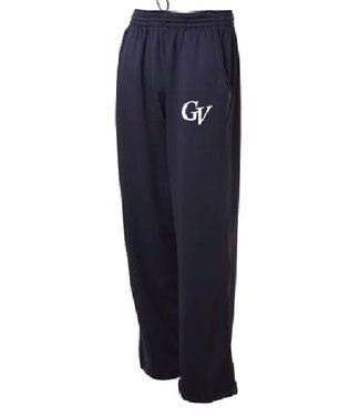 Authentic t-shirt company Pantalons Authentic gris 100% polyester avec logo GV en serigraphie
