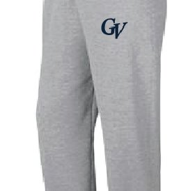 Authentic t-shirt company Pantalons Jogging Authentic 100% cotton gris logo Georges-Vanier
