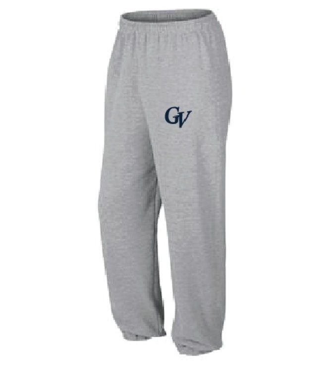Authentic t-shirt company Pantalons Jogging Authentic 100% cotton gris logo Georges-Vanier - OFJ-GV-GY
