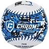 Franklin Franklin MLB® 9'' rubber soft teeball Chrome