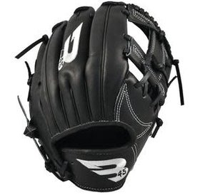 B45 B45 Diamond Series Fielding Glove Black/Black RHP 11.5''