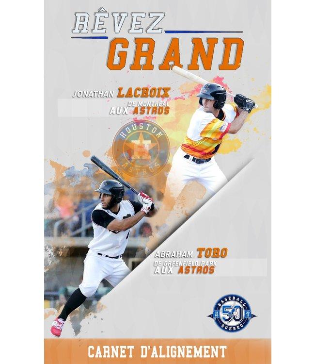 Baseball Québec - carnet d'alignements