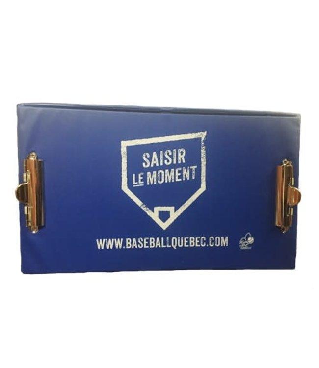 Louisville Slugger Tablette de marqueur rigide Baseball Quebec