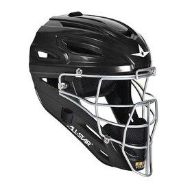 All Star ALl-Star MVP2500 Black catcher helmet solid