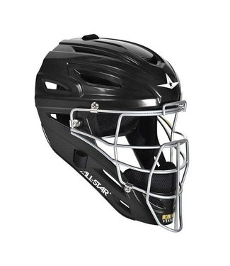 All Star ALl-Star MVP2500 Black catcher helmet solid