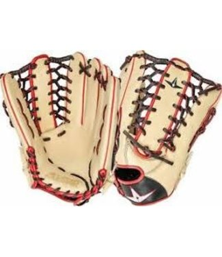 All Star All Star Outfield Mitt 12.75` cream/black LHT