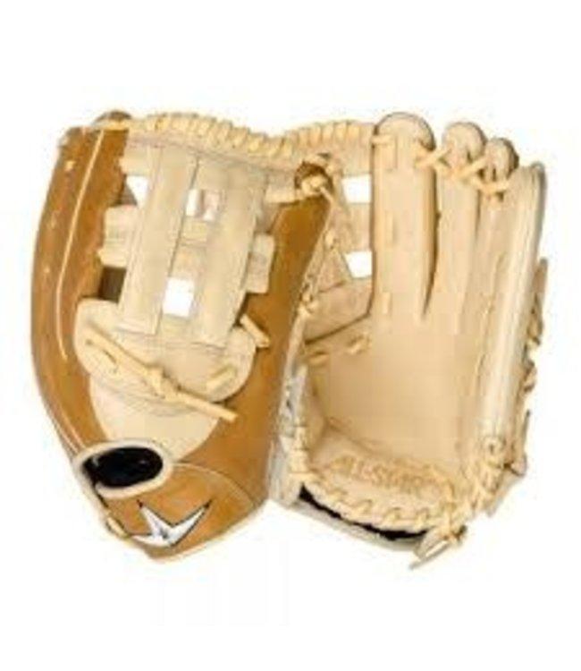 All Star All Star Outfield softball Mitt 12.5'' cream/tan LHT