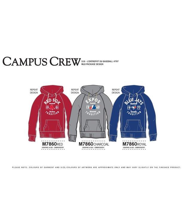 Campus Crew Hoodie Pullhover