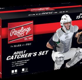 Rawlings Rawlings Catcher Kit Set VCSA Velo adut adult silver