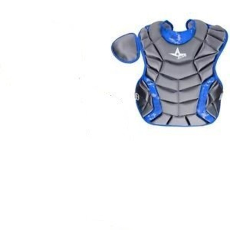 All Star All-Star system 7 Catcher's chest protector royal camo Age 12-16