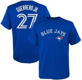 Majestic Majestic men name and number T-Shirt Toronto Blue Jays Vladimir Guerrero JR