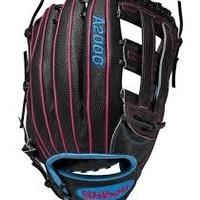Wilson Wilson A2000 Glove Of The Month OCT 2019 Superskin SP125 12.5'' RHT Black/Pink/Blue