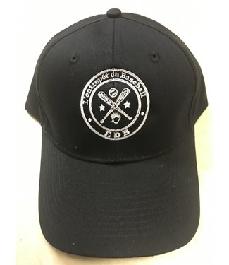 Authentic t-shirt company EDB Casquette Authentic noir Velcro adulte