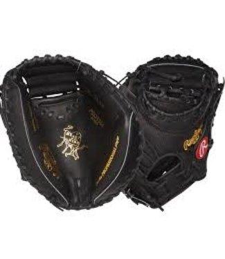 Rawlings Rawlings Heart of the Hide PROYM4 Yadier Molina pattern catcher mitt  34'' RHT