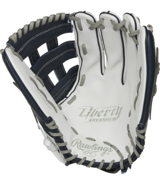 Rawlings Rawlings Liberty Advanced Color Series RLA130-6N 13'' outfield glove white/navy