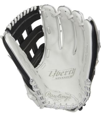 Rawlings Rawlings Liberty Advanced Color Series RLA130-6BP 13'' outfield glove white/black