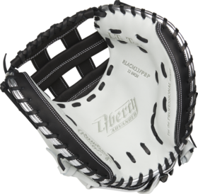 Rawlings Rawlings Liberty Advanced color series RLACM33FPBP catcher glove 33'' white and black RHP