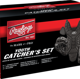 Rawlings Rawlings Players series Catcher kit youth 9-12 PLCSY black