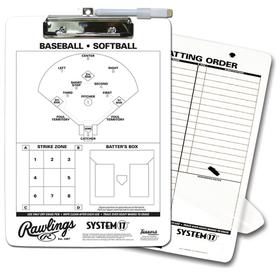 Rawlings Rawlings CLIP System-17 coach clipboard