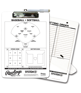 Rawlings Rawlings CLIP System-17 coach clipboard