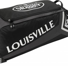 Louisville Slugger LS Series 7 Ton Wheeled Bag Black