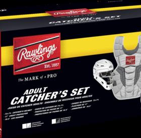 Rawlings Rawlings Velo 2.0 Catcher Kit Set CSV2A adult black/silver