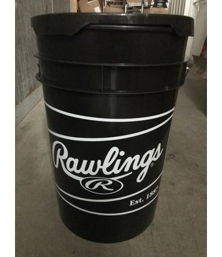 Rawlings Rawlings Empty Bucket black with EDB logo