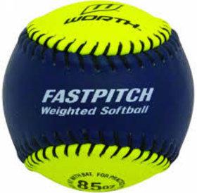 Worth Worth softball training Weighted Ball 8.5oz