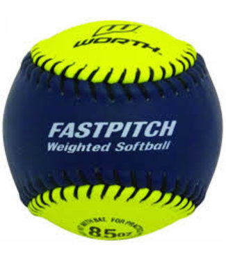 Worth Worth softball training Weighted Ball 8.5oz