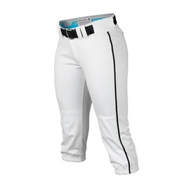 Easton Easton Women's Prowess Piped Pant white and black