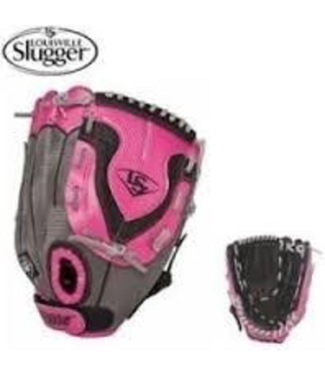 Louisville Slugger LS Diva Fastpitch Black/Pink 11'' LHT