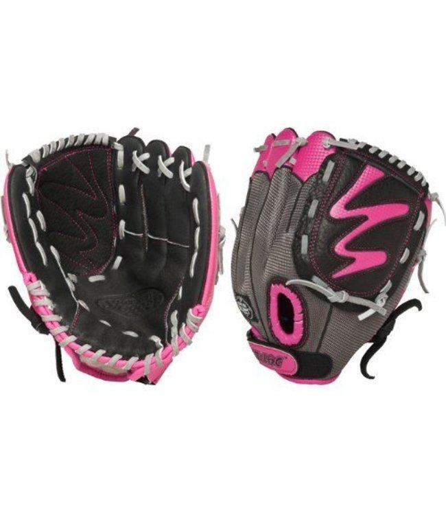 Louisville Slugger LS Diva Fastpitch Black/Pink 10.5'' RHT