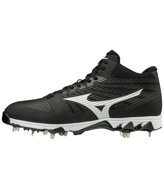 Mizuno Mizuno 9-Spike Ambition mid black/white