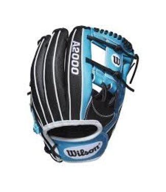 Wilson Wilson A2000 Glove Of The Month Janv 2020 Superskin 1787 11.75'' RHT Black/TropicalBlue