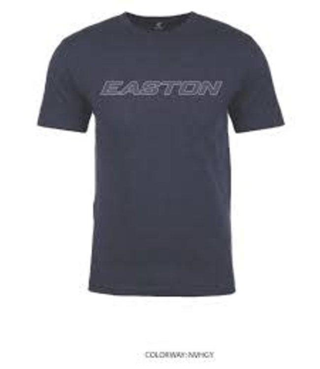 Easton Easton Tshirt Charcoal/Red