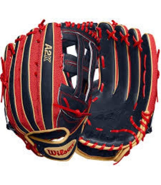 "Wilson Wilson 2020 A2K MB50 Mookie Betts Game model 12.5"" Outfield Baseball Glove - LHT"