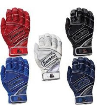 Franklin Franklin The Powerstrap Chrome Batting Gloves Adult