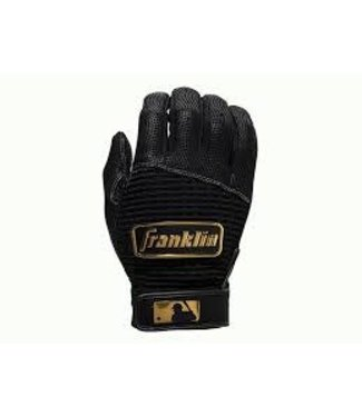Franklin Franklin Pro Classic Batting Gloves Black/Gold