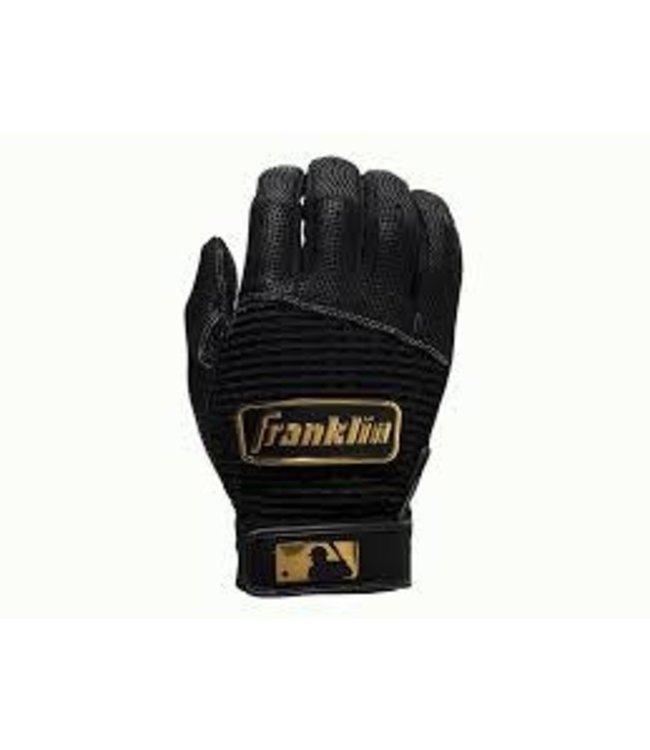 Franklin Franklin Pro Classic Batting Gloves Black/Gold