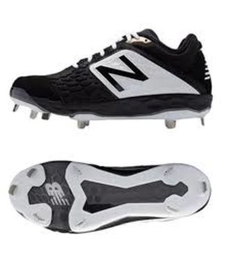 New Balance Athletic New Balance L3000BK4 low cut metal cleats Black