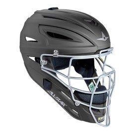 All Star ALl-Star MVP2500 Black catcher helmet matte finish